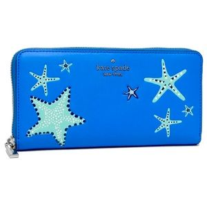 Kate Spade New York Shore thing Starfish Exclusive Large Wallet